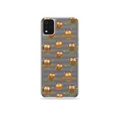 Capa (Transparente) para LG K52 - Corujinhas