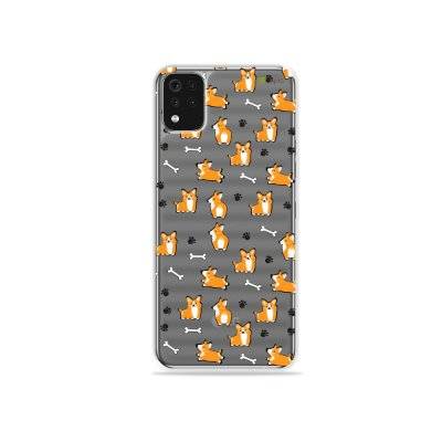 Capa (Transparente) para LG K52 - Cãozinho