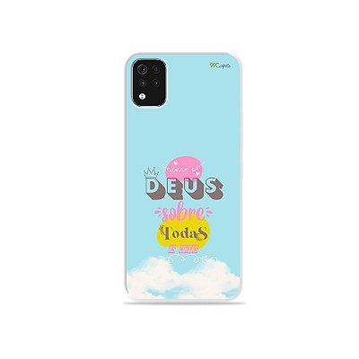 Capa para LG K52 - Amar a Deus