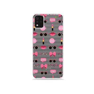 Capa (Transparente) para LG K52 - Girls