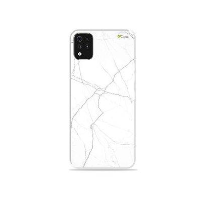Capa para LG K52 - Marble White