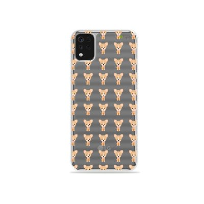 Capa (Transparente) para LG K52 - Chihuahua