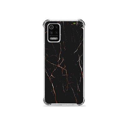Capa para LG K62 - Marble Black