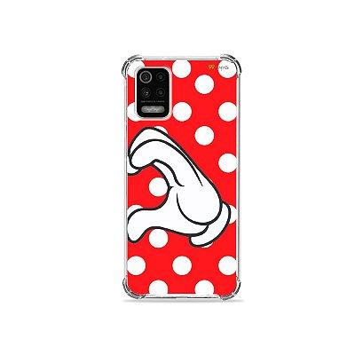 Capa para LG K62 - Coração Minnie