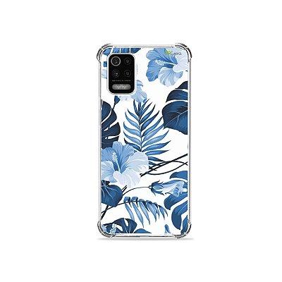 Capa para LG K62 - Flowers in Blue