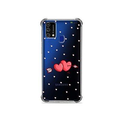 Capa (Transparente) para Galaxy M21s - In Love