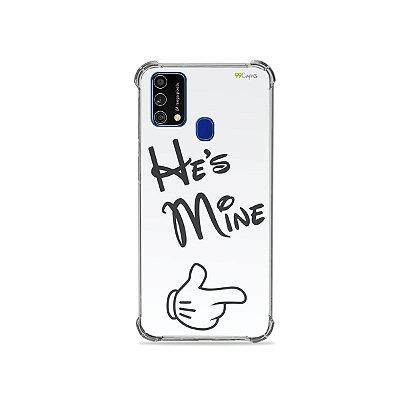 Capa para Galaxy M21s - He's Mine
