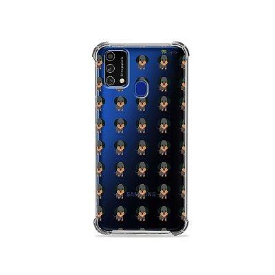 Capa (Transparente) para Galaxy M21s - Salsichinha