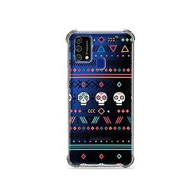 Capa (Transparente) para Galaxy M21s - Tribal