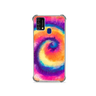 Capa para Galaxy M21s - Tie Dye Roxo