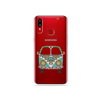 Capinha (transparente) para Galaxy A10s - Kombi
