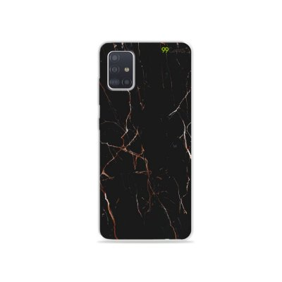 Capinha para Galaxy A51 - Marble Black