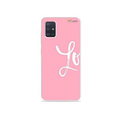 Capinha para Galaxy A51 - Love 1