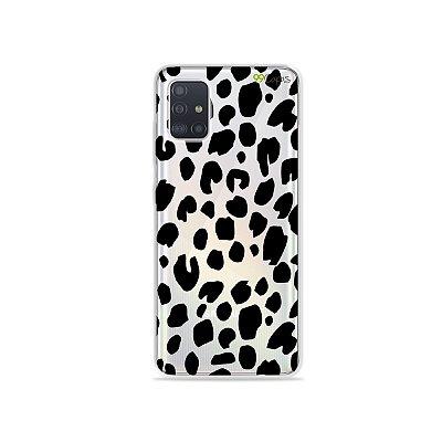 Capinha (transparente) para Galaxy A51 - Animal Print Basic