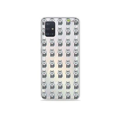 Capinha (transparente) para Galaxy A51 - Husky