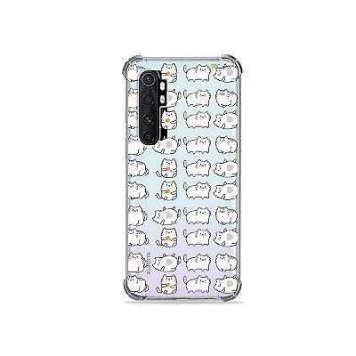 Capa (transparente) para Xiaomi Mi Note 10 Lite - Lazy Cat