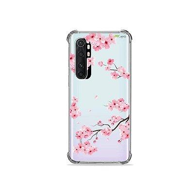 Capa (transparente) para Xiaomi Mi Note 10 Lite - Cerejeiras
