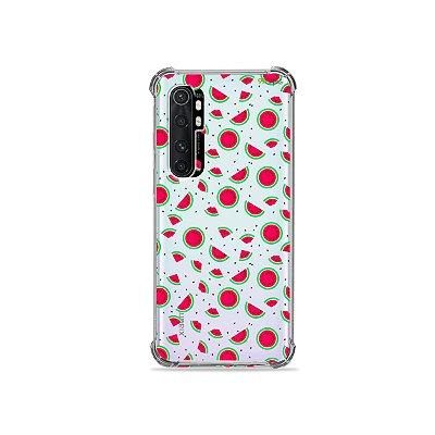 Capa (transparente) para Xiaomi Mi Note 10 Lite - Mini Melancia