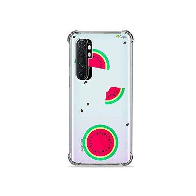Capa (transparente) para Xiaomi Mi Note 10 Lite - Melancias