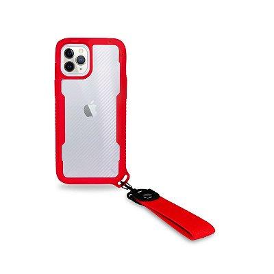 Capa Hold Vermelha para iPhone 12 Pro Max - 99Capas