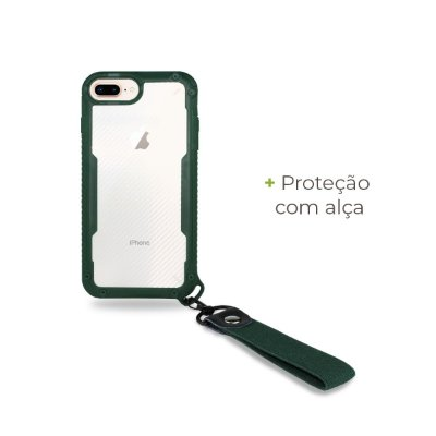 Capa Hold Verde para iPhone 7 Plus - 99Capas