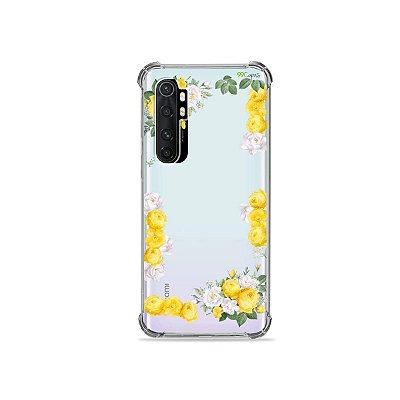 Capa (transparente) para Xiaomi Mi Note 10 Lite - Yellow Roses