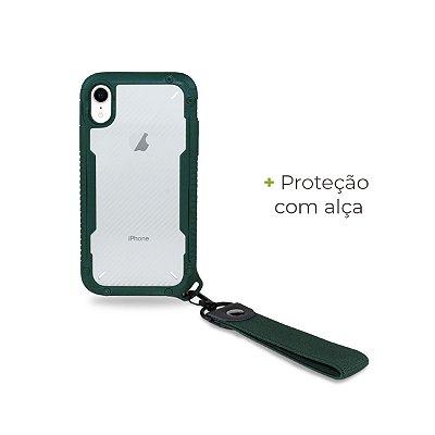 Capa Hold Verde para iPhone XR - 99Capas