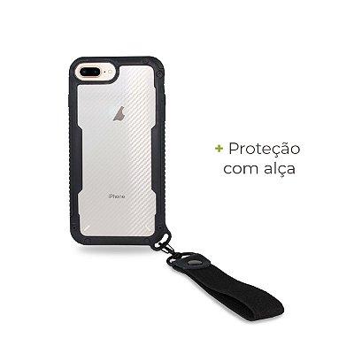 Capa Hold Preta para iPhone 7 Plus - 99Capas