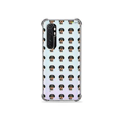 Capa (transparente) para Xiaomi Mi Note 10 Lite - Salsichinha