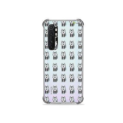 Capa (transparente) para Xiaomi Mi Note 10 Lite - Husky
