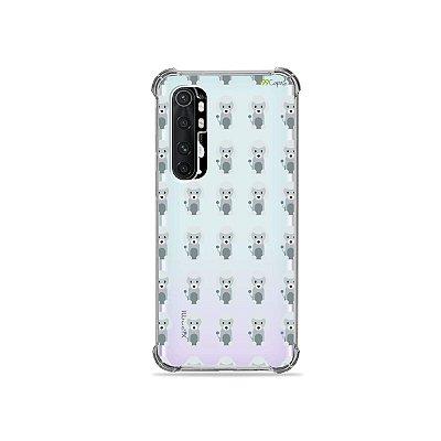 Capa (transparente) para Xiaomi Mi Note 10 Lite - Poodle