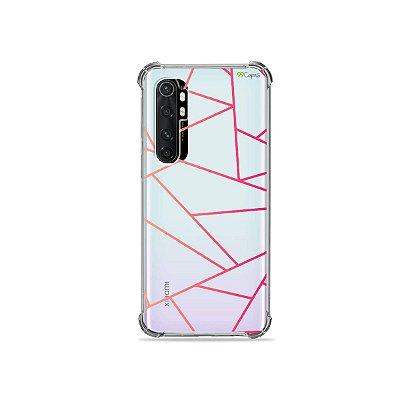 Capa (transparente) para Xiaomi Mi Note 10 Lite - Abstrata