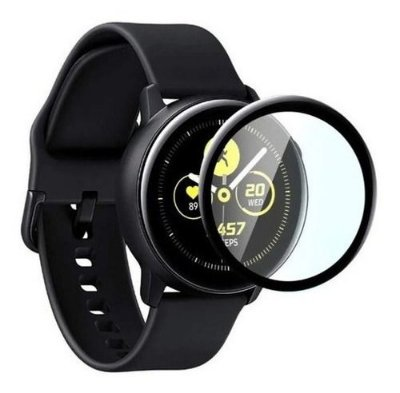 Película de Vidro (com borda preta) para Samsung Active - 44mm
