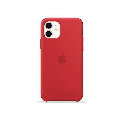 Silicone Case Vermelha para iPhone 11 - 99Capas