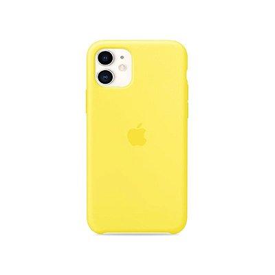 Silicone Case Amarela para iPhone 11 - 99Capas