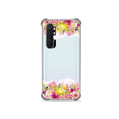 Capa (transparente) para Xiaomi Mi Note 10 Lite - Botânica