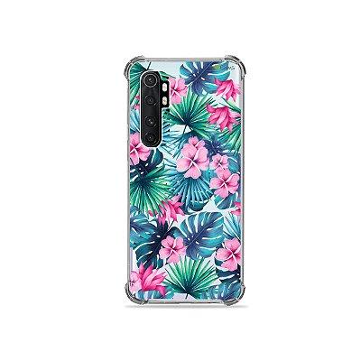 Capa (transparente) para Xiaomi Mi Note 10 Lite - Tropical