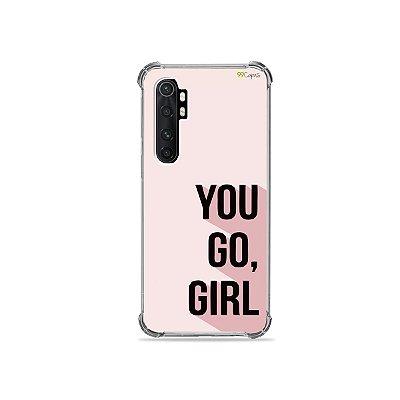 Capa para Xiaomi Mi Note 10 Lite - You Go, Girl