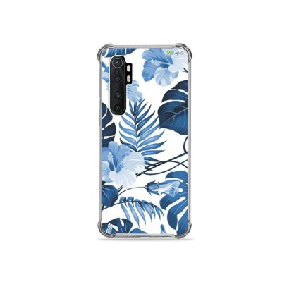 Capa para Xiaomi Mi Note 10 Lite - Flowers in Blue