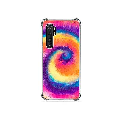 Capa para Xiaomi Mi Note 10 Lite - Tie Dye Roxo