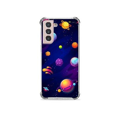 Capa para Galaxy S21 - Galáxia