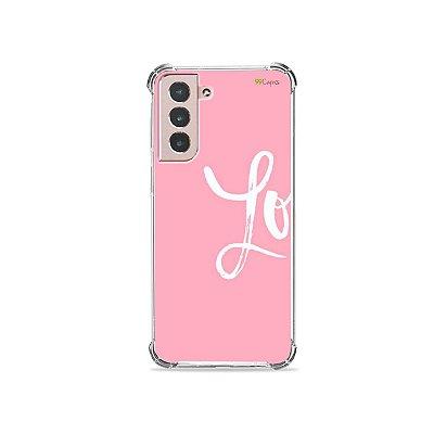 Capa para Galaxy S21 - Love 1
