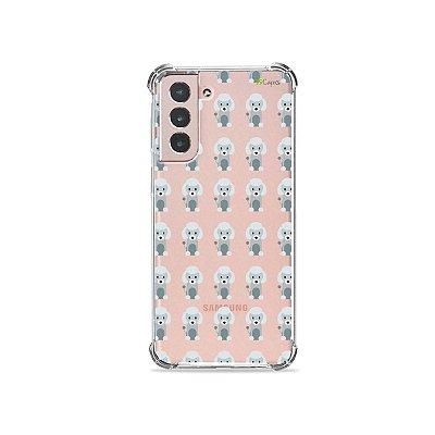 Capa (Transparente) para Galaxy S21 - Poodle
