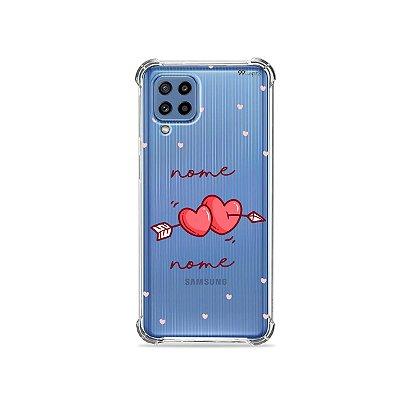 Capa In Love com nome personalizado para Galaxy A
