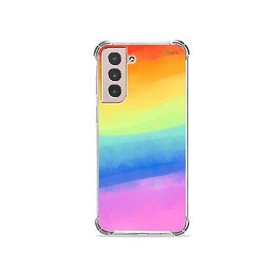 Capa para Galaxy S21 - Rainbow