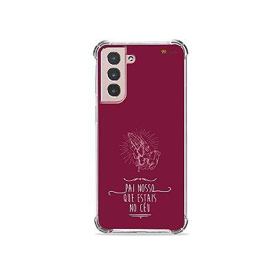 Capa para Galaxy S21 - Pai Nosso