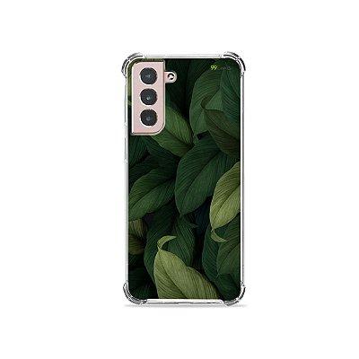 Capa para Galaxy S21 - Folhas