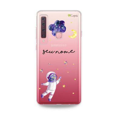 Capa Astronauta Sonhador com nome para Samsung S