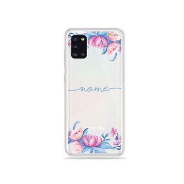 Capa Bromélias com nome personalizado para Galaxy S