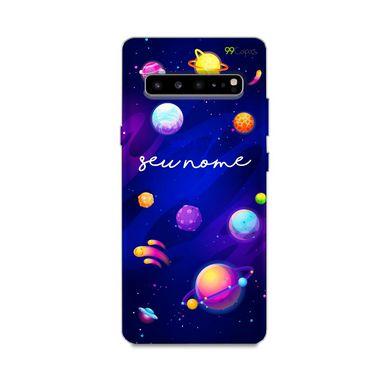 Capa Galáxia com nome personalizado para Galaxy S